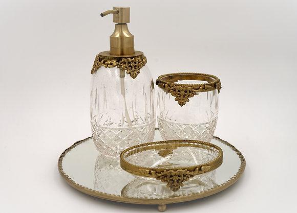 浴室4件套裝(金色)
