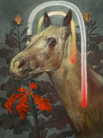 Untitled (Horse with Arches)