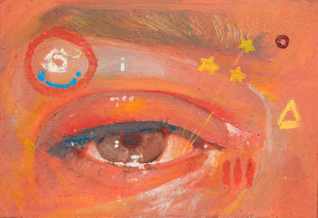 Eye with Stars