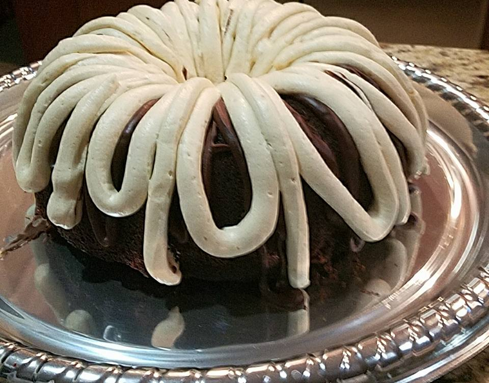 Chocolate Bundt with Caramel