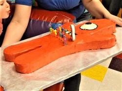Muno (Yo Gabba Gabba) Cake