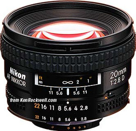 Nikon 20mm D F2.8