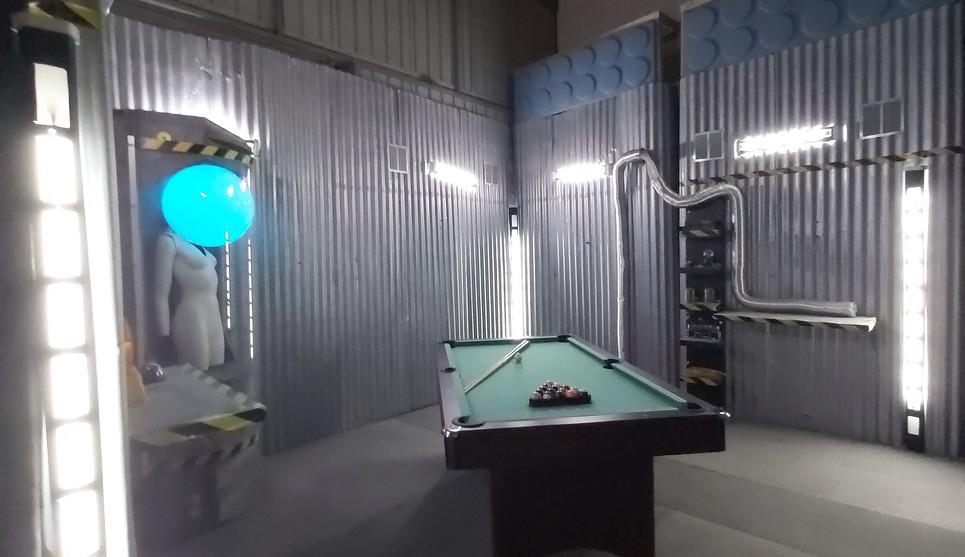 Red Storm Films Studio - Green Room Pool Table.jpg