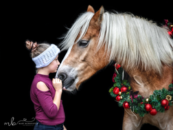 Kranzshooting Pferd
