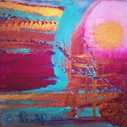 Mini canvas block~A