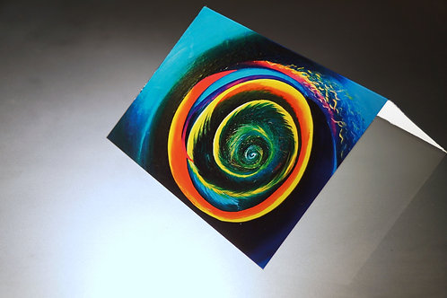 SWIRLS-greeting card set