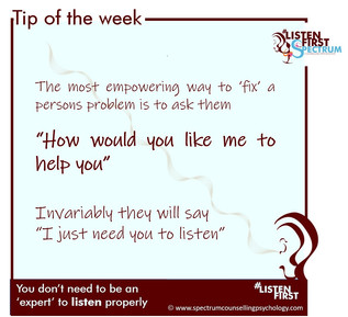 """Ask the person """"How would you like me to help?"""""""
