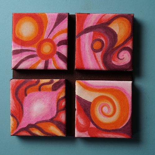 INTERACTIVE ART; Small orange