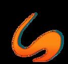 3D orange Swirl shadow.png