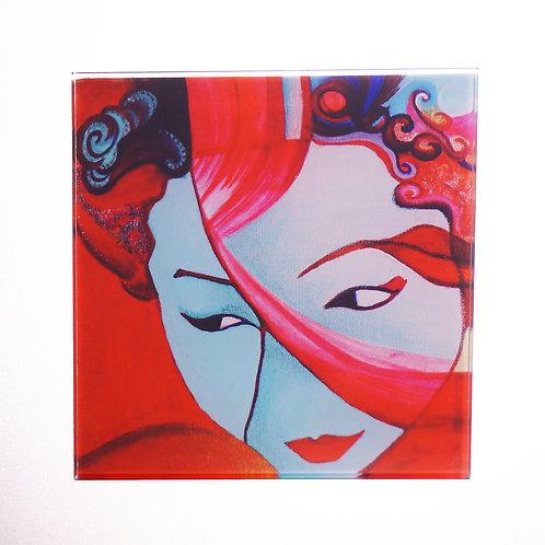 GEISHA (bl)-Individual coasters