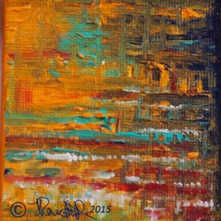 Mini canvas block~K