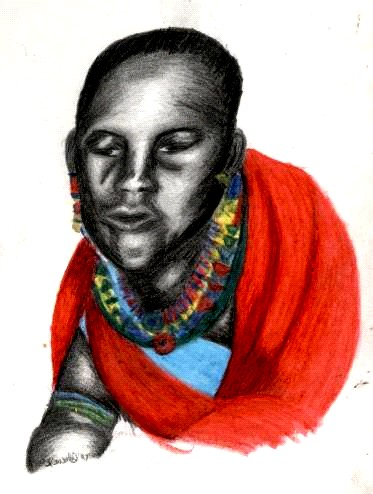 Girl massai