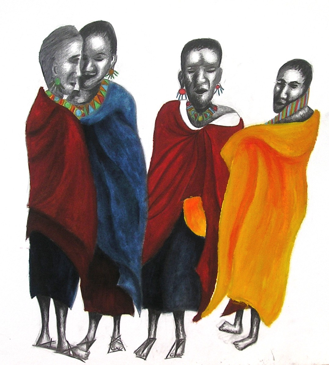 Massai women 1998