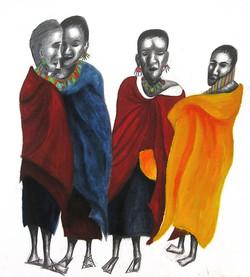 Massai women 1998
