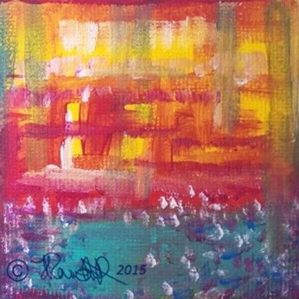 Mini canvas block~D