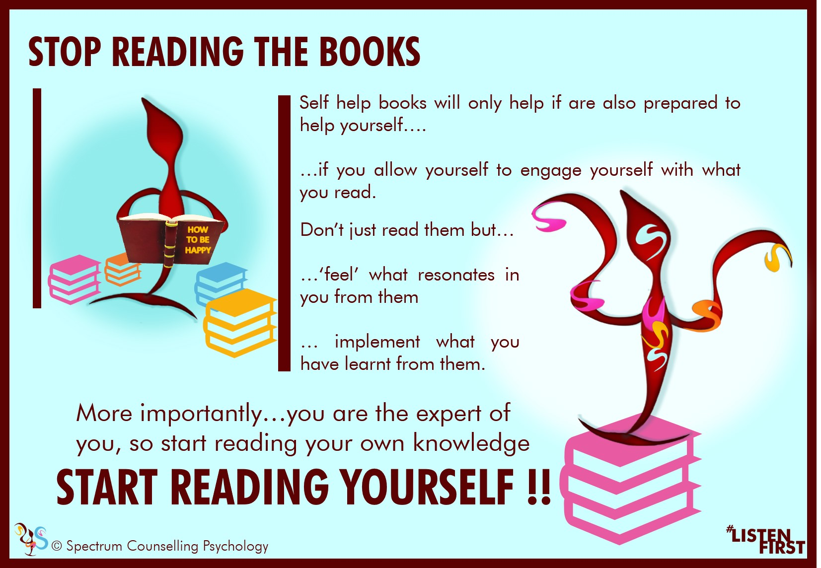 Start reading yourself