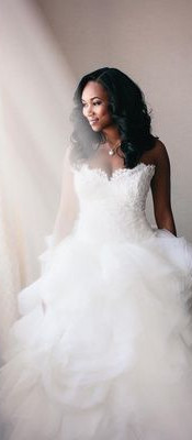 12 Real Brides Who Wore Ball Gowns Worth