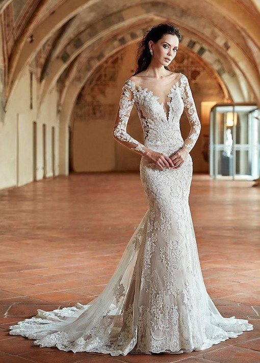 Simple Wedding Dresses, Attractive Tulle
