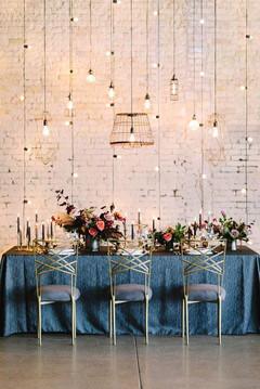 Industrial Glam Wedding Inspiration by W