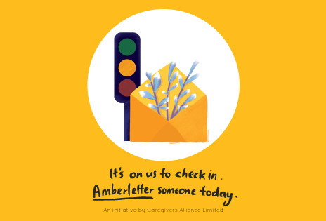 It's on us to check in. Amberletter someone today!