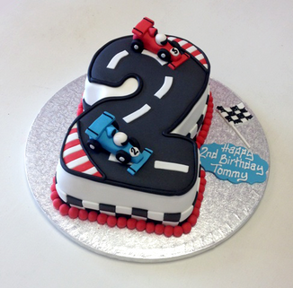 Racing Cars Number