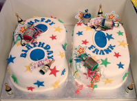Large Number Party Cake