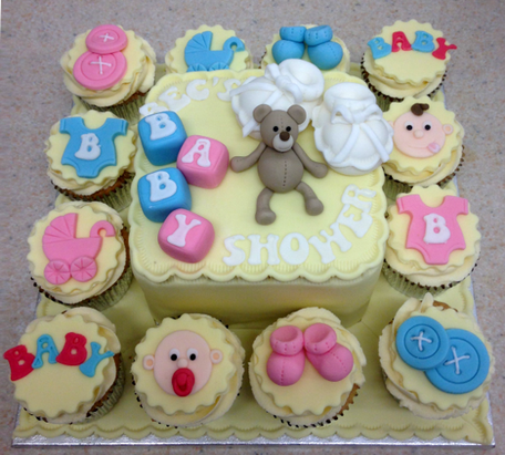Teddy Baby Shower Combo