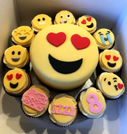 Emoji Cupcake Combo