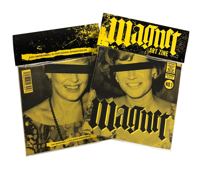 """Magnet"" Art Zine No.1 - NOW AVAILABLE"