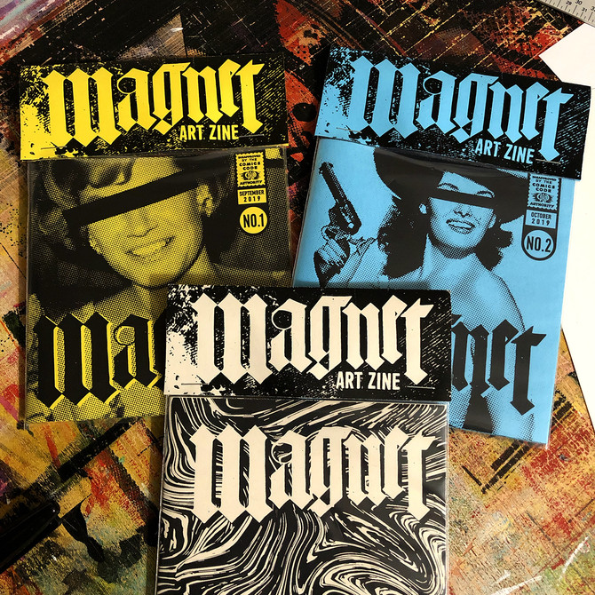 Magnet Art Zine Issues 2 & 3 - Out Now!