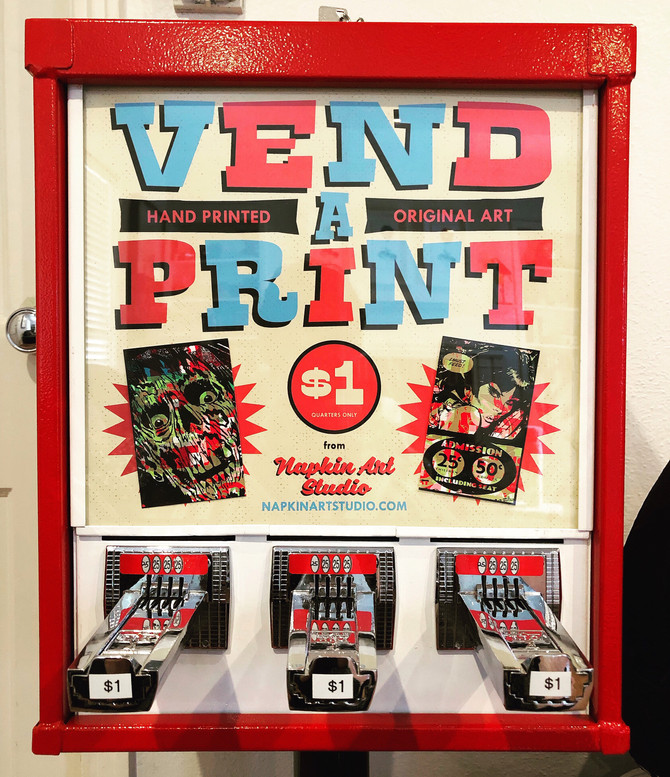 The Vend-A-Print Machine Strikes Again!
