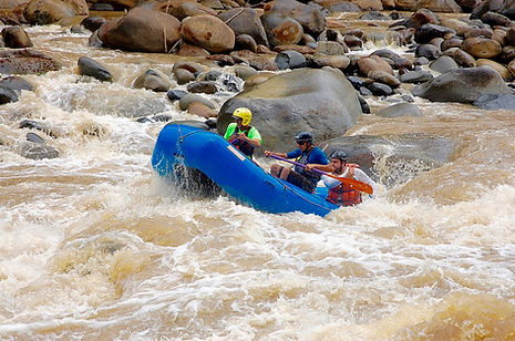 Jaco Rafting Naranjo River Chorro Section
