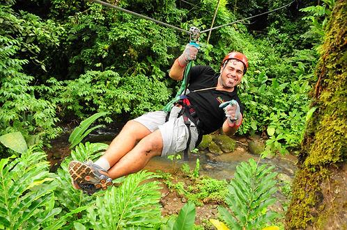 Jaco Rafting Ziplining Adventure