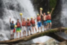 Jaco Rafting Savere River and Waterfalls