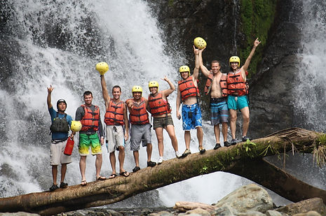 Jaco Rafting Savere River and Waterfalls