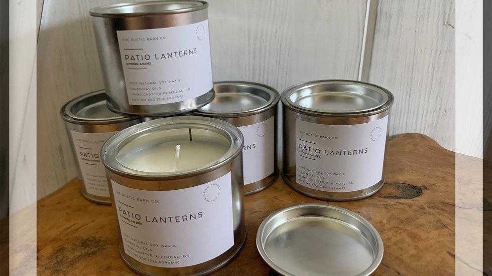 Patio Lanterns Soy Wax Candle