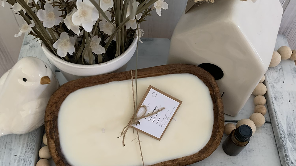 Dough Bowl Soy wax candle with essential oil blend