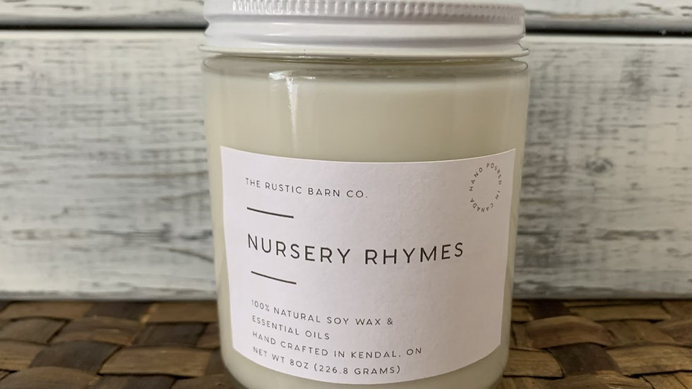 Nursery Rhymes Soy Wax Candle