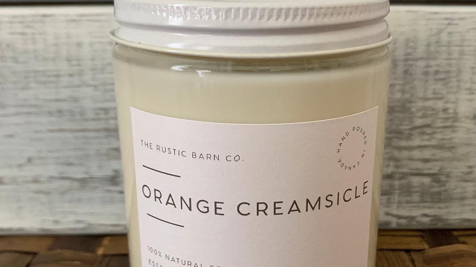 Orange Creamsicle Soy Wax Candle