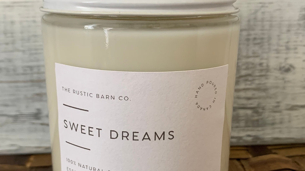 Sweet Dreams Soy Wax Candle