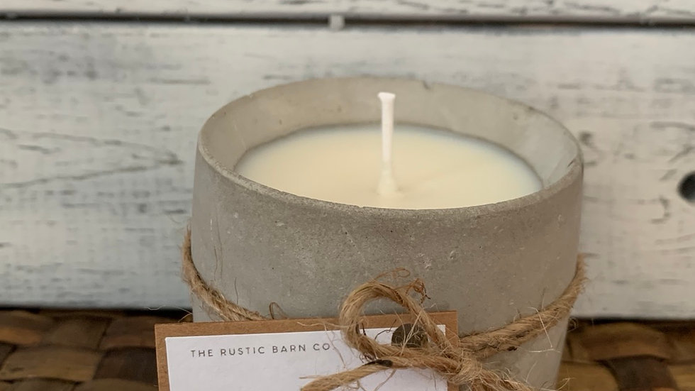Soy Wax Candle - choose your scent