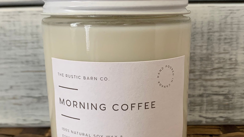 Morning Coffee Soy Wax Candle