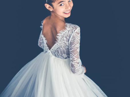Photoshoot of a young ballet dancer from springvale