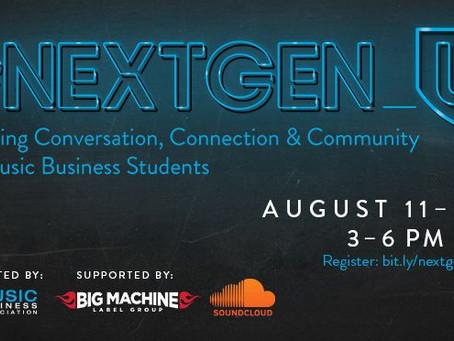 #NextGen_U: Music Industry Conference for Students
