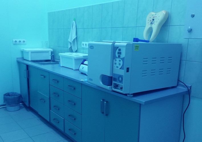 Стоматология Крамос, Автоклавная