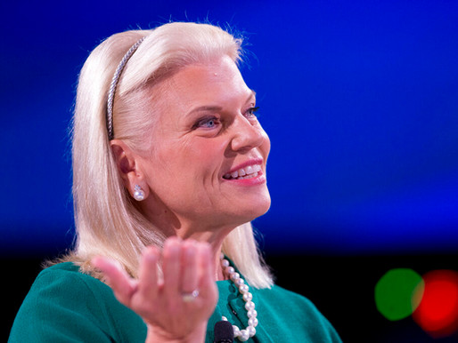 Virginia Rometty, CEO of IBM steps down; Arvind Krishna to assume position.