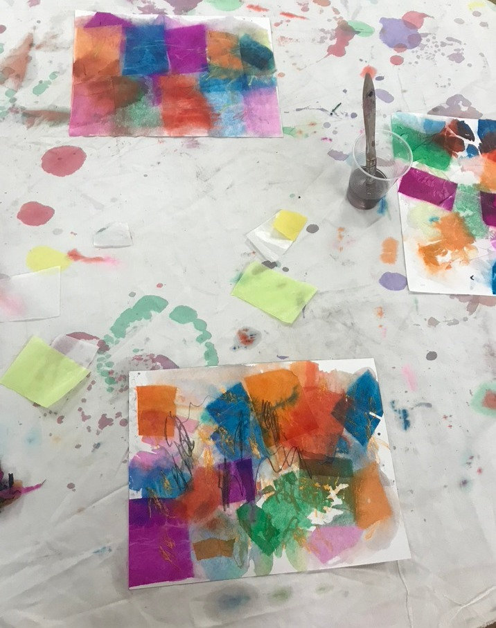 Mixed Media Class for kids