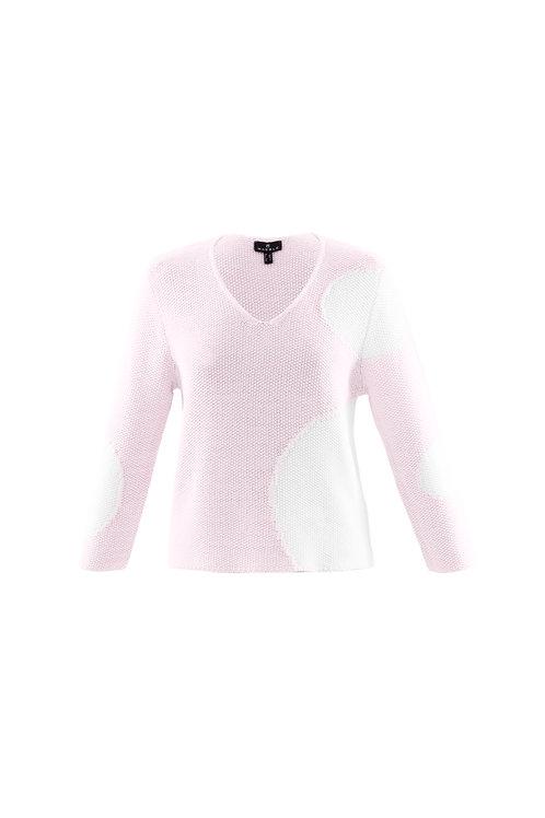 Marble Pale Pink Jumper