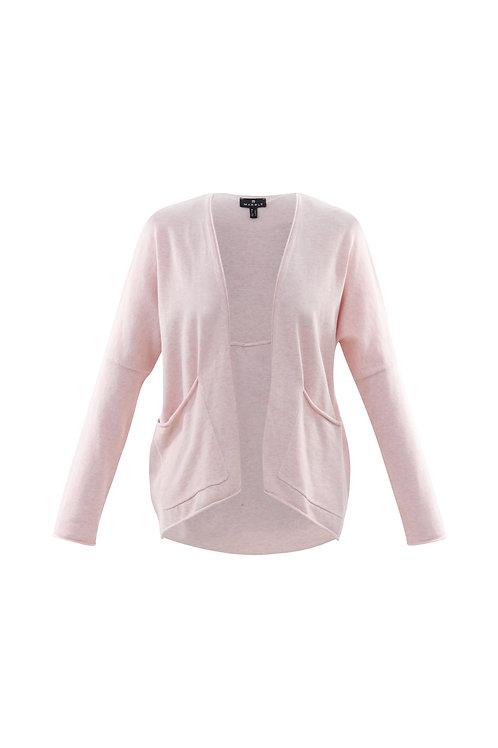 Marble Pale Pink Cardigan