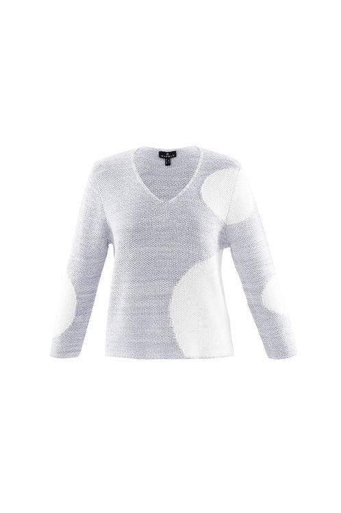 Marble Silver Jumper